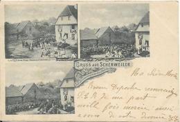 SCHERWEILER, Gruss Aus, Précurseur - Autres Communes