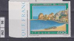 ITALIA REPUBBLICA   1990Turismo  Castellammare Del Golfo Nuovo - 6. 1946-.. Repubblica