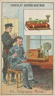 Electricité  Telegraphe Invention Samuel Morse Né à Charlestown USA - Evénements