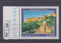 ITALIA REPUBBLICA   1990Turismo Montepulciano Nuovo - 6. 1946-.. Repubblica