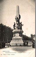 BARCELONA  MONUMENTO DE RIUS Y TAULET - Guadalajara