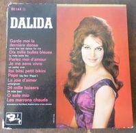 33 T 25 CM  DALIDA   --  24 000 BAISERS - Autres - Musique Française