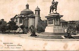 BARCELONA  MONUMENTO A PRIM - Guadalajara
