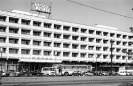 Hongrie - BUDAPEST - Hotel Aero, Ferde U. 1-3 - Foto Dr. Bérczi Lorant - Autobus - Automobiles - Hongrie