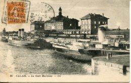 CPA -  CALAIS - GARE MARITIME - Calais