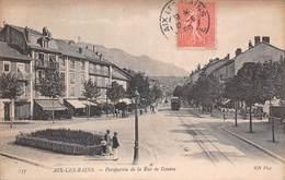 Aix Les Bains (73) - Perspective De La Rue De Genève - Aix Les Bains