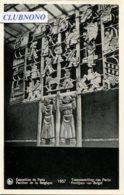 CPA -  PARIS - EXPO 1937 - PAVILLON DE LA BELGIQUE - PANNEAU EN DINANDERIE - Expositions