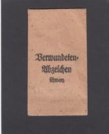 VERWUNDETENABZEICHEN TÜTE OHNE INHALT/PAPERBAG WITHOUT CONTENT/POCHETTE EN PAPIER VIDE. - Deutsches Reich