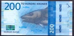 Norway 200 Kroner 2016 UNC Pic 55 - Norvegia