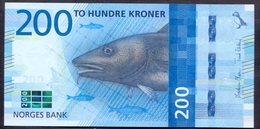 Norway 200 Kroner 2016 UNC Pic 55 - Norway