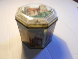 ANCIENNE BOITE A BISCUITS / NURNBERGER / ALLEMAGNE 12X12CM - Scatole