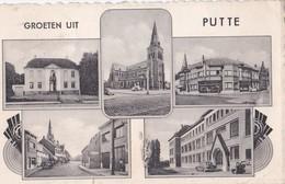 Carte 1950 GROETEN UIT PUTTE / MULTIVUES - Putte