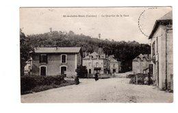 CPA 19 - St Aulaire Gare ( Corrèze ) - Le Quartier De La Gare - Francia