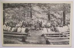 Indianer Indians Council Ring New Wawayanda Andoner N.J. Ca. 1910 (49859) - Indiens De L'Amerique Du Nord