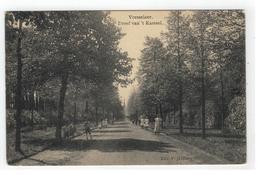 Vorselaar - Vorsselaer.  Dreef Van 't Kasteel 1911 - Vorselaar