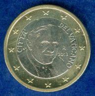 Vatikan 1 Euro 2013 Unzirkuliert/stg - Vatican