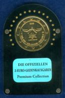Belgien 2 EUR 2008 24K-vergoldet Premium-Collection - Belgium