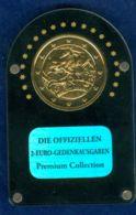 Italien 2 EUR 2008 24K-vergoldet Premium-Collection - Italy