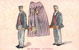 Aix Les Bains (73) - Les Porteurs - Illustration - Aix Les Bains