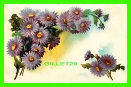 FLOWERS, FLEURS -  LOT DE BELLE FLEURS - CIRCULÉE EN 1907 - - Fleurs