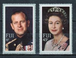 Fiji 1982 Set Of Stamps To Celebrate The Royal Visit. - Fiji (1970-...)