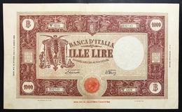 1000 Lire Grande M Testina B.I.12 10 1946 Bel BB Naturale  LOTTO 2300 - [ 2] 1946-… : Républic