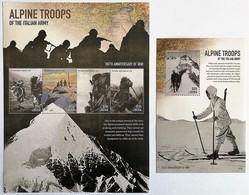 # Liberia 2015**Mi.6620-24  Italian Mountain Troops Of The First World War , MNH  [15;146] - Militaria