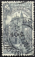 Portugal 1933 7th Centenary Death St. Anthony Of Pádua - Surcharged - Santa Cruz Cathedral A106 Canc - Christianisme