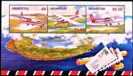 # Niuafo'ou 2002**Mi.402-404  Post Aircraft , MNH [19;146] - Avions