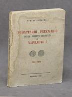 Numismatica - Prontuario Prezziario Delle Monete Di Napoleone I - Ed. 1952 - Livres & Logiciels