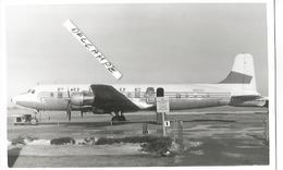 PHOTO AVION DOUGLAS DC 6 N93120    13X9CM - 1946-....: Era Moderna