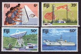 Fiji 1981 Set Of Stamps To Celebrate Telecommunications. - Fiji (1970-...)