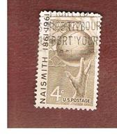 STATI UNITI (U.S.A.) - SG 1188 - 1961  J.A. NAISMITH, BASKETBALL  -  USED° - Stati Uniti