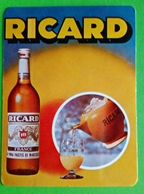 Calendrier De Poche Ricard 1982 - Calendars