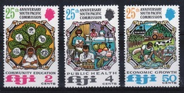 Fiji 1972 Set Of Stamps To Celebrate The 25th Anniversary Of The South Pacific Commission. - Fiji (1970-...)