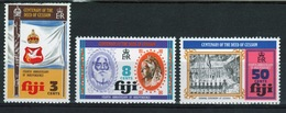 Fiji 1974 Set Of Stamps To Celebrate The Centenary Of The Deed Of Cession. - Fiji (1970-...)