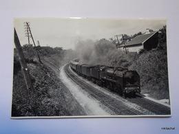 SAINT CYR-Train-Photographie Format CPA - St. Cyr L'Ecole