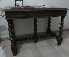 Table à Balustre XIXe Style Louis XIII  114 X 70 Cm H 84 Cm - Meubles
