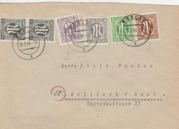 Allemagne Bizone Lettre Goslar1946 - American/British Zone