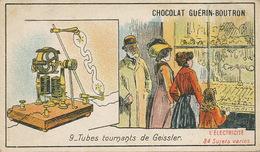 Electricité  Tubes Tournants De Geissler Born In Igelshieb - Allemagne