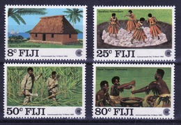 Fiji 1983 Set Of Stamps To Celebrate Commonwealth Day. - Fiji (1970-...)