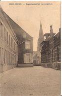 MEULEBEKE REGENTIESTRAAT EN GEMEENTEHUIS FELDPOST 1915 Stempels 6/243d1 - Meulebeke