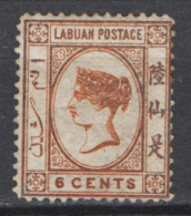 Labuan 1879 Y.T. 2 */MH VF/F - Grande-Bretagne (ex-colonies & Protectorats)