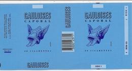 Tabac  -  2 Feuilles Neuves   GAULOISES  Caporal    Et   LUCKY STRIKE - Tabac (objets Liés)