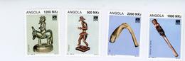 Angola 1994-Sculture En Bois-YT 915/18***MNH - Angola
