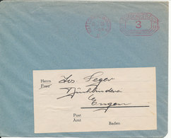 Germany Reich Cover With Meter Cancel Karlsruhe (Baden) 2. 10-7-1926 - Covers & Documents