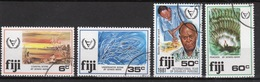 Fiji 1981 Set Of Stamps To Celebrate International Year Of The Disabled. - Fiji (1970-...)