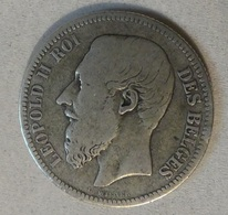 BELGIQUE - 2 FRANCS 1866 ARGENT - 1865-1909: Leopold II