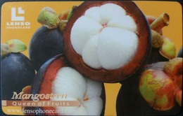 Telefonkarte Thailand - Lenso - Frucht - Mangosteen - 2008/02 - Thaïland
