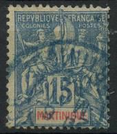 Martinique (1892) N 36 (o) - Martinique (1886-1947)